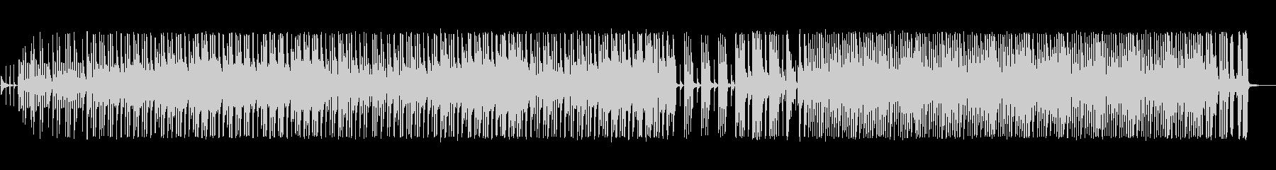 シンプルで軽快なピアノポップスの未再生の波形