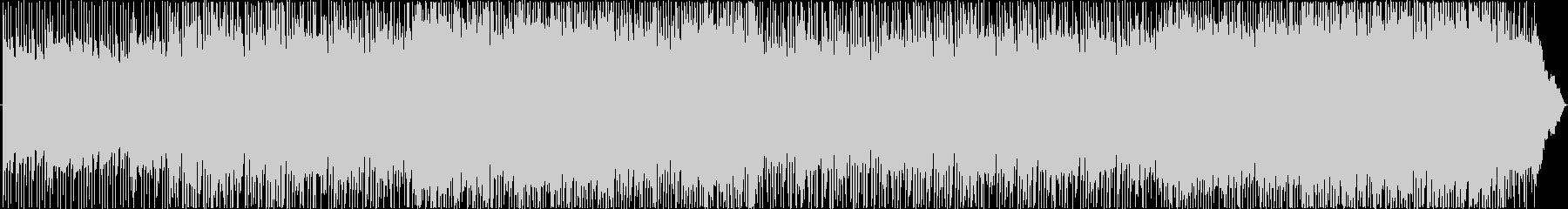 不思議な雰囲気かコミカルに変化するBGMの未再生の波形