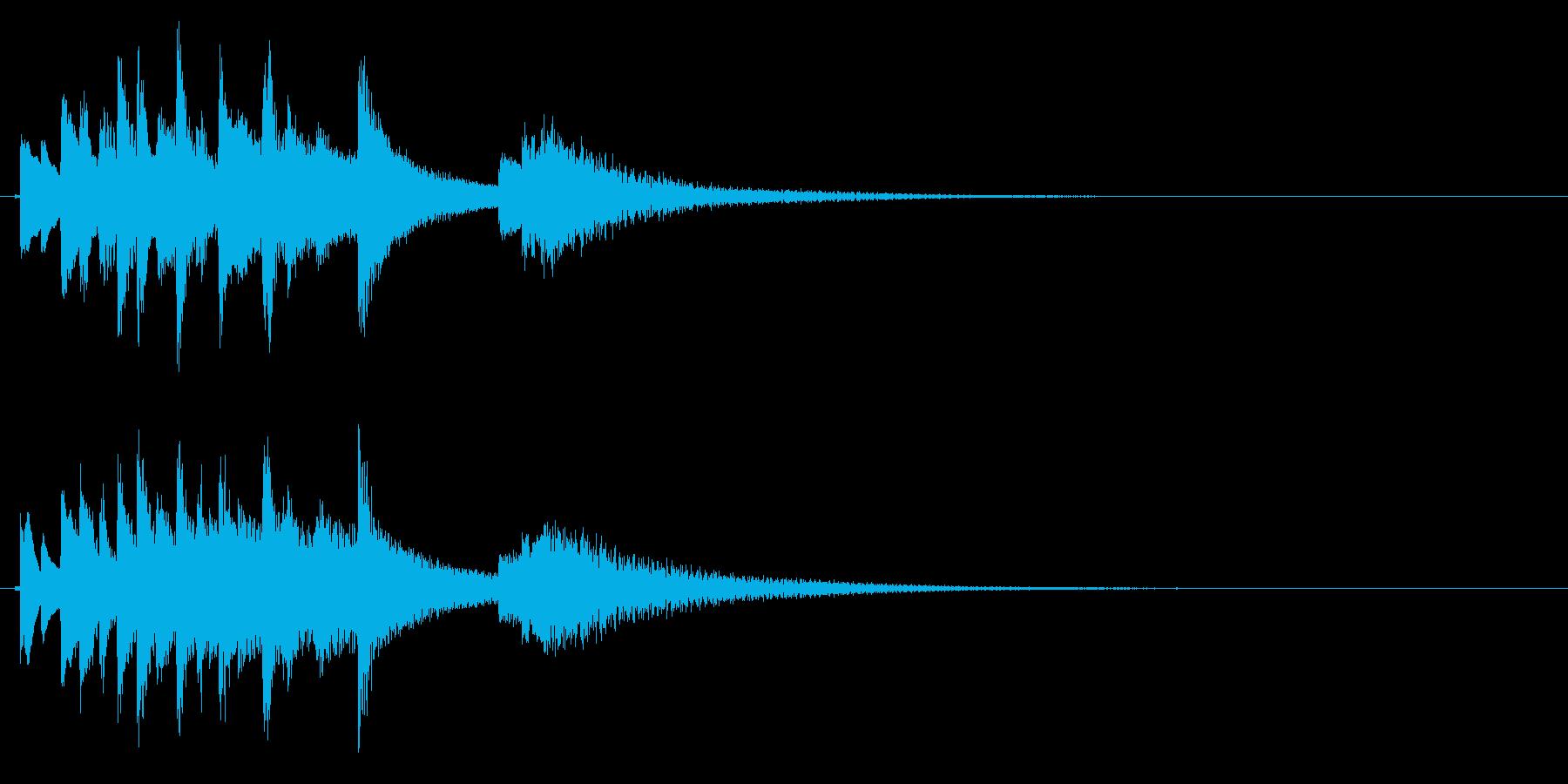琴のフレーズ4☆調律2の再生済みの波形
