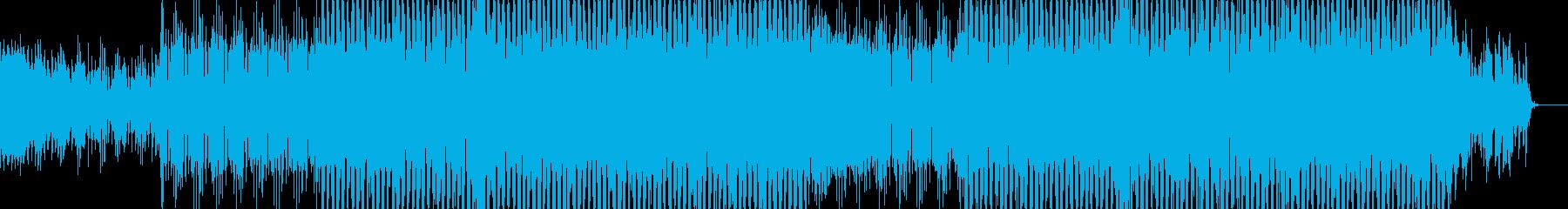 EDMクラブ系ダンスミュージック-101の再生済みの波形