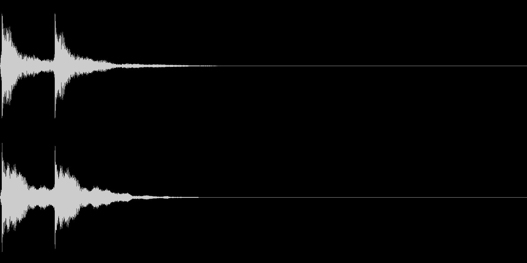三味線/和風/システム音/B-4の未再生の波形