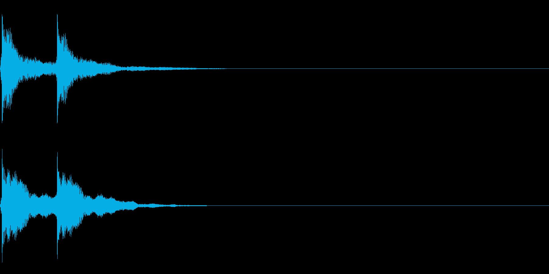 三味線/和風/システム音/B-4の再生済みの波形