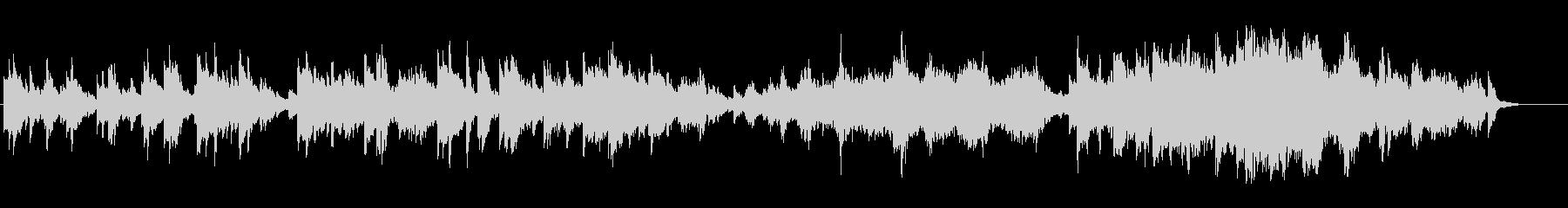 アンニュイなピアノのアンビ系バラードの未再生の波形