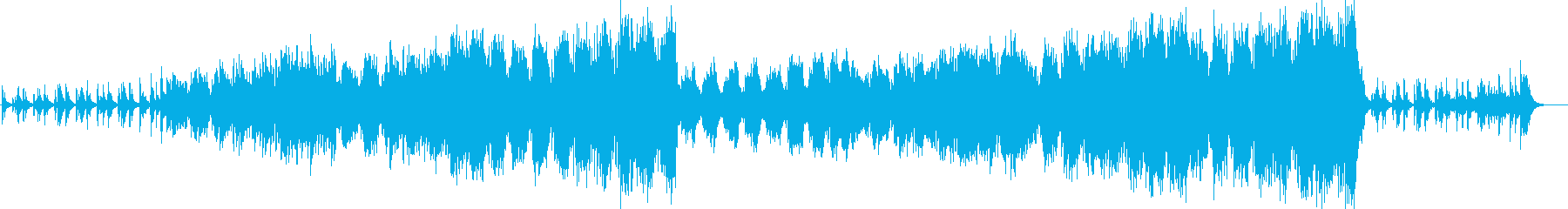 Spectacular scale bright and fun orchestra song's reproduced waveform