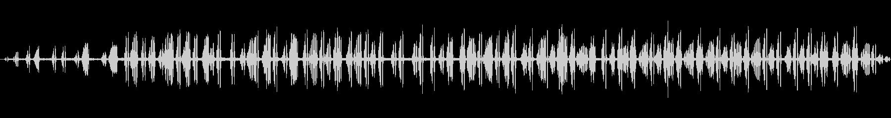 2-3カエルの鳴き声、動物、両生類...の未再生の波形