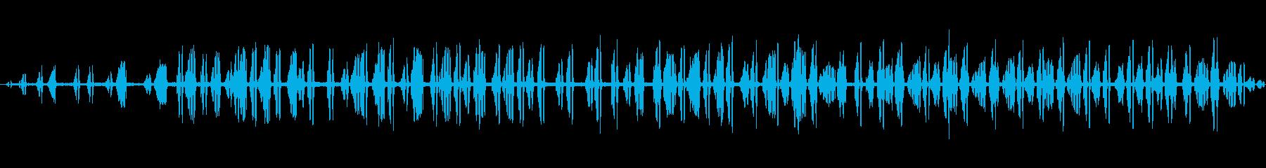 2-3カエルの鳴き声、動物、両生類...の再生済みの波形