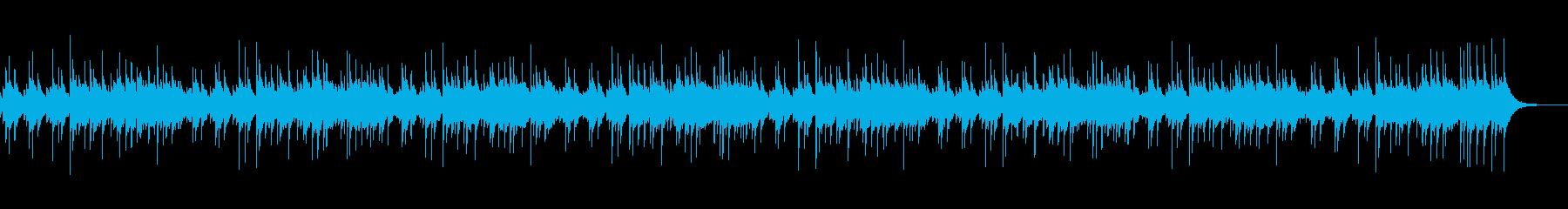 オルゴールの小曲を作りましたの再生済みの波形
