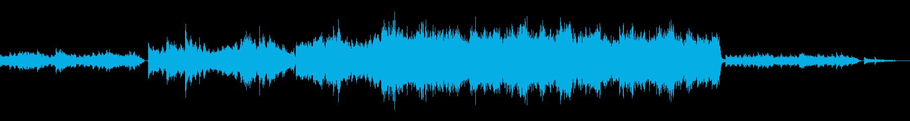 何かに目覚めるイメージ曲の再生済みの波形