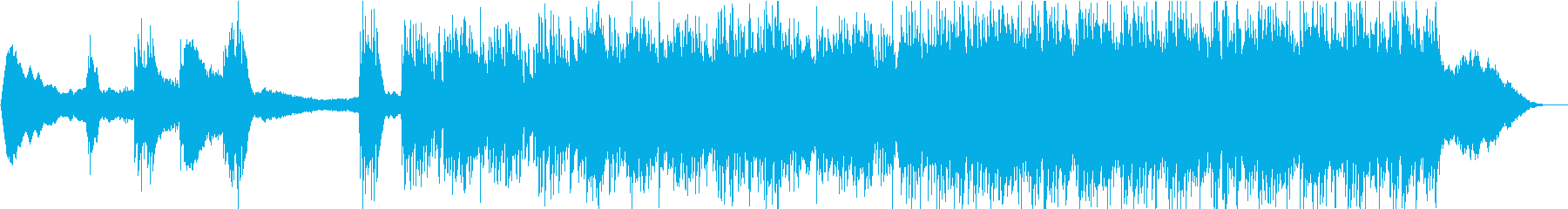 疾走感のあるミステリアスなエスニック の再生済みの波形