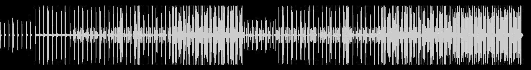シンセ ダーク サイバー トラップの未再生の波形