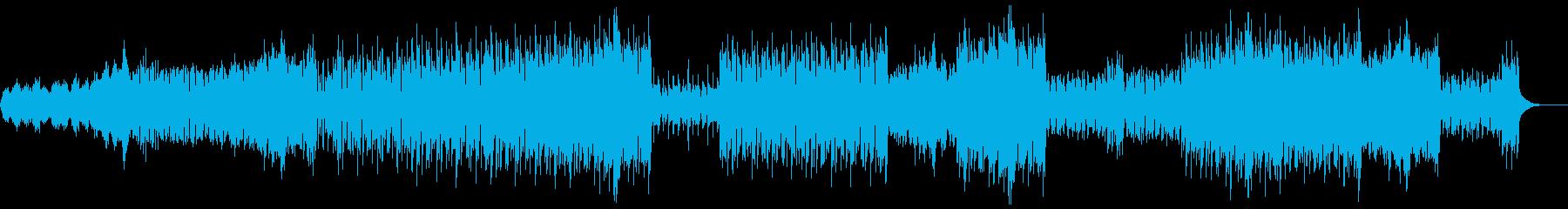 爽やかで明るいループメロディ主体の曲。…の再生済みの波形