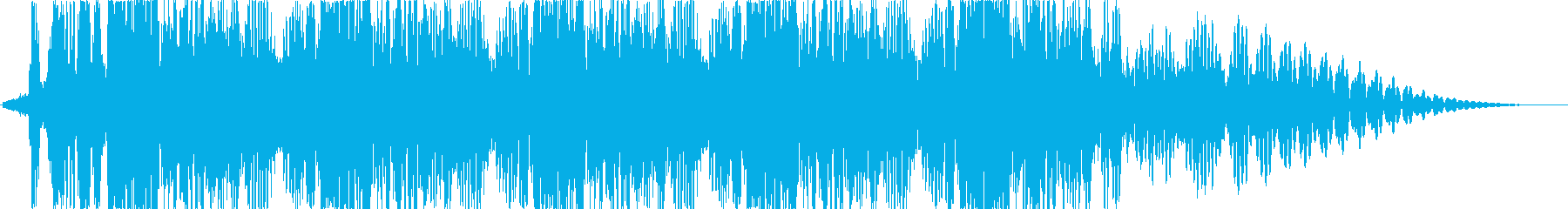 【SF】 Gunshot 03 連射の再生済みの波形