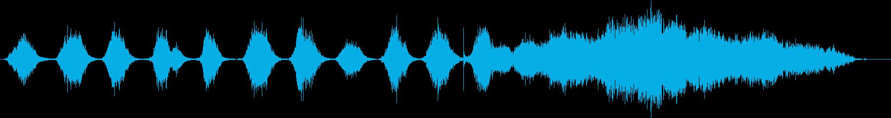 小学生:10からのカウントダウン、...の再生済みの波形