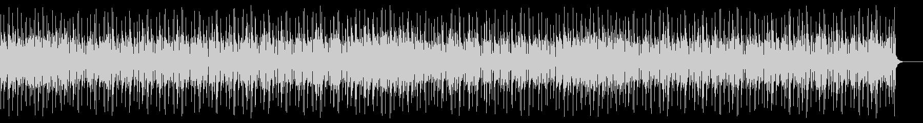 トロピカルでリゾートな南国曲の未再生の波形