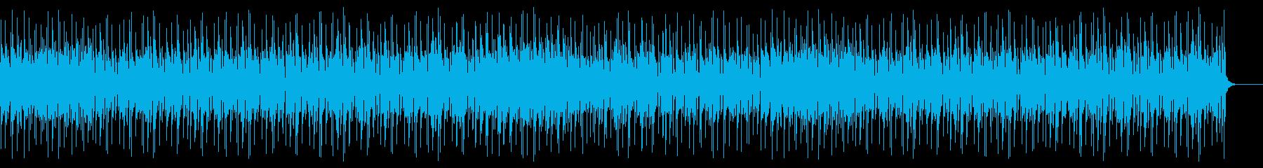 トロピカルでリゾートな南国曲の再生済みの波形