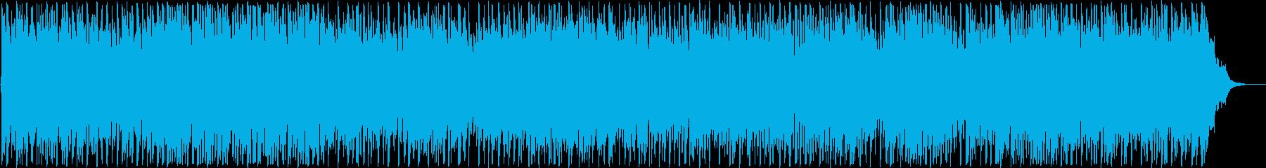 背景をポップします。コードの変調。の再生済みの波形