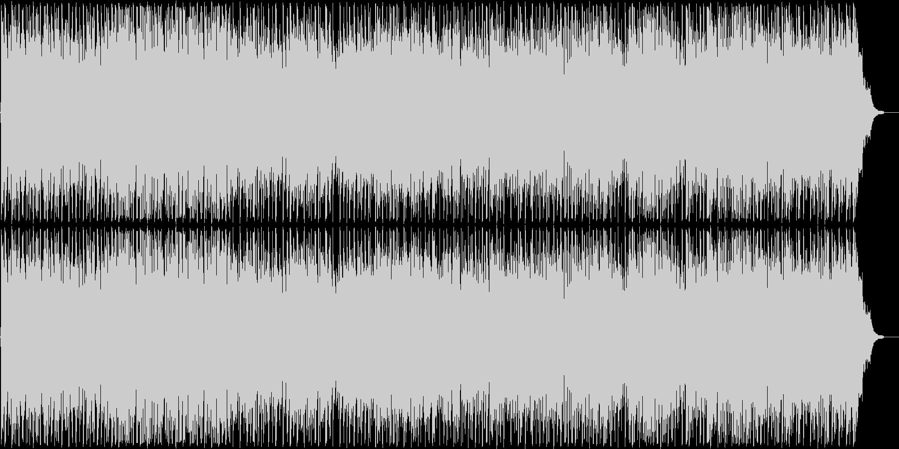 背景をポップします。コードの変調。の未再生の波形