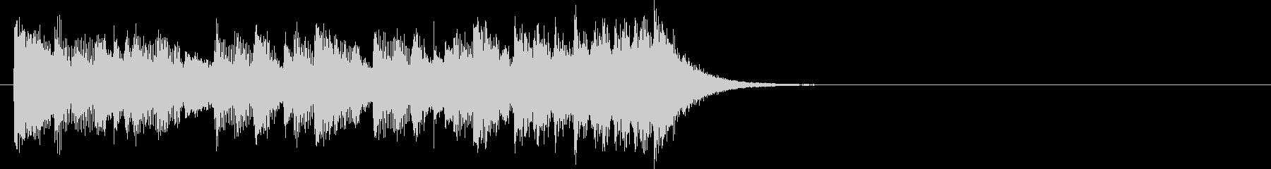 ジングル(ポップス・タイプ)の未再生の波形