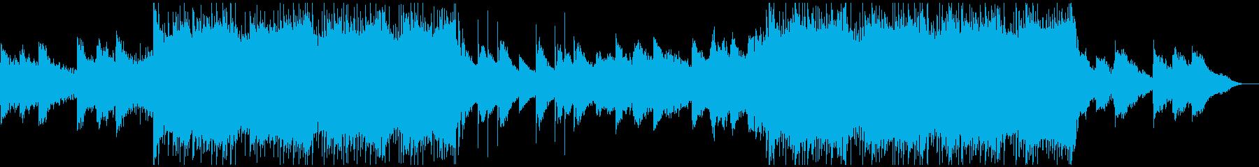 感動を演出するCM、爽やか動画/dr無しの再生済みの波形