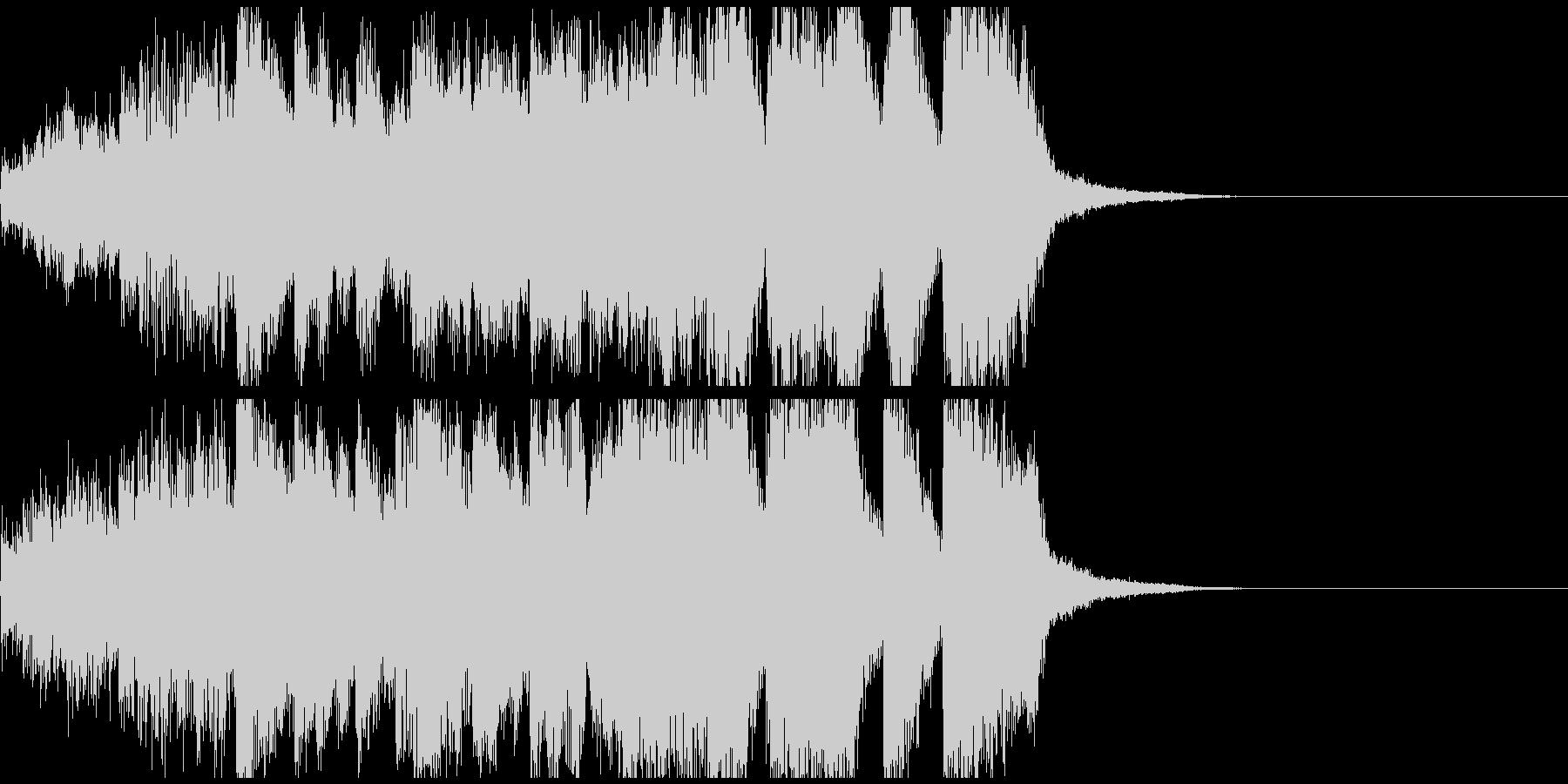 うれしいファンファーレ ジングル約10秒の未再生の波形