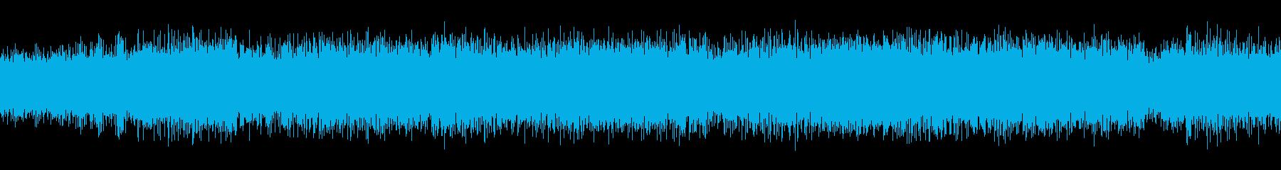 ミニトランジスターラジオ:静的ラジ...の再生済みの波形