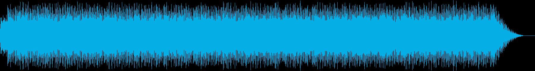疾走感のある無調エレクトロニカの再生済みの波形