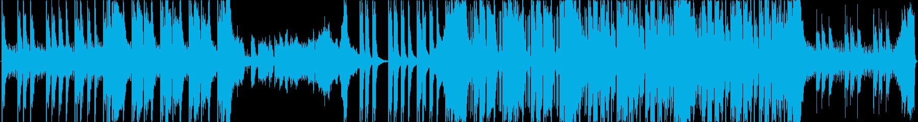 おしゃれ、ポジティブ、エレクトロの再生済みの波形