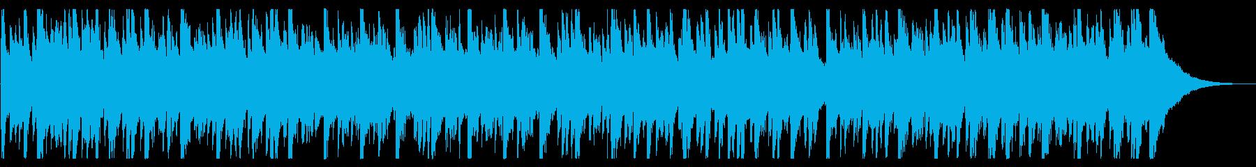 ほのぼのとした懐かしいエレクトロニックの再生済みの波形