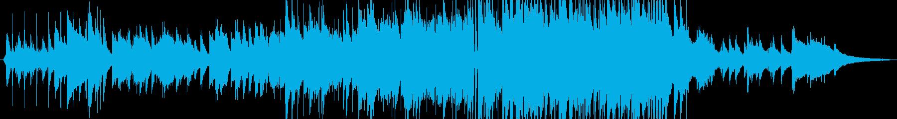 生サックス 爽やかで感動的なバラードの再生済みの波形
