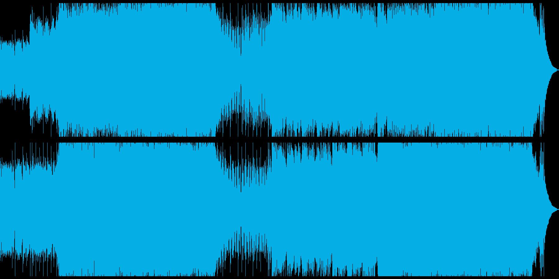 パンク インディーロック ポジティ...の再生済みの波形