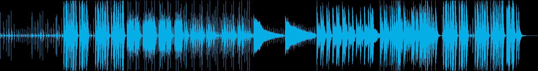 企業VP52 16bit48kHzVerの再生済みの波形