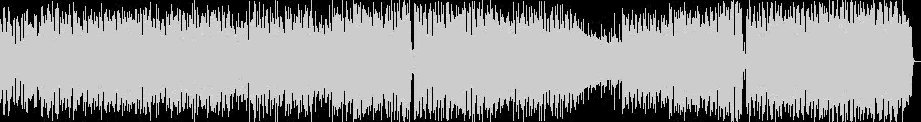 8bit風の和メロテクノポップスの未再生の波形
