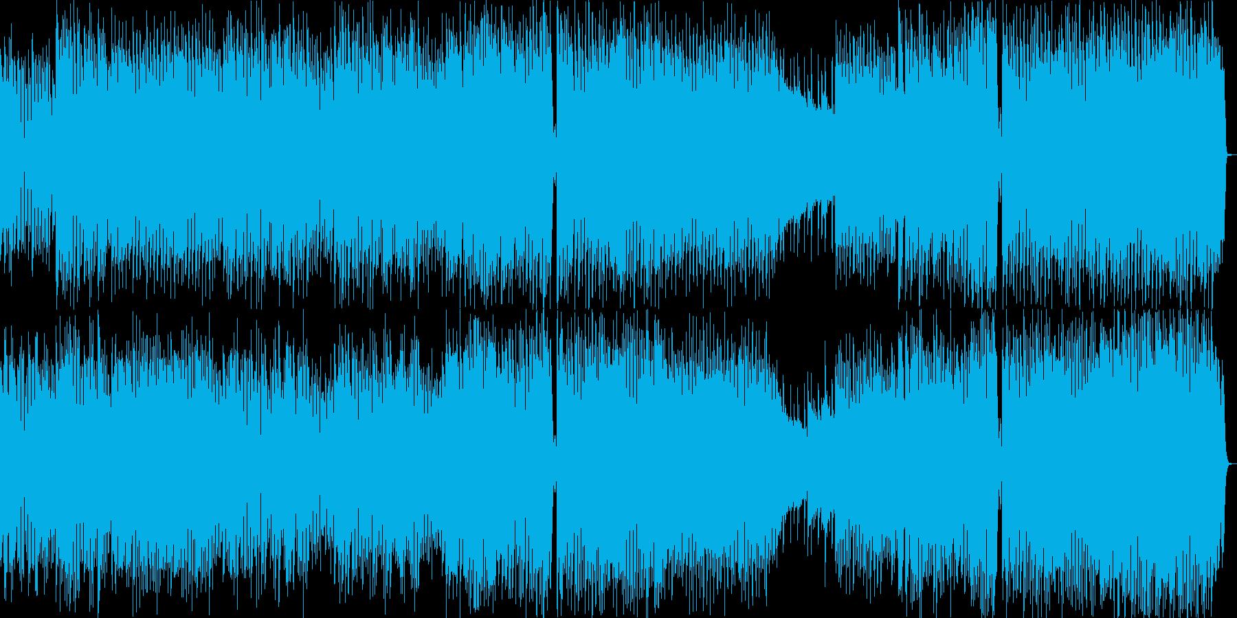 夜間飛行-かわいらしいテクノポップスの再生済みの波形