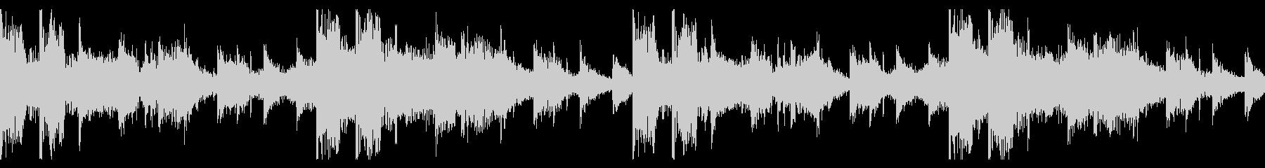 リズムメインのシネマティックエレクトロCの未再生の波形
