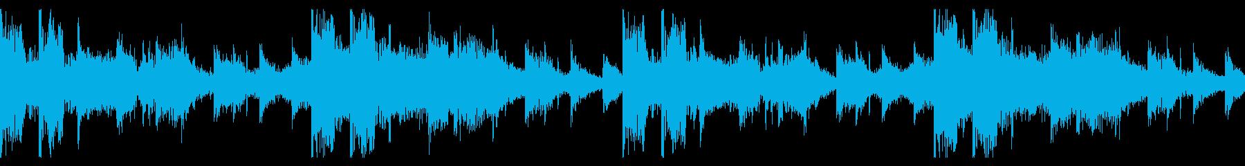 リズムメインのシネマティックエレクトロCの再生済みの波形