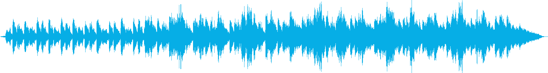 リラックスのためのアンビエントの再生済みの波形