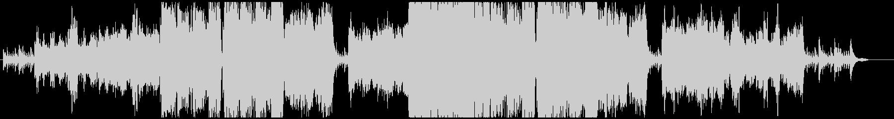 悲しいオーボエとピアノの未再生の波形