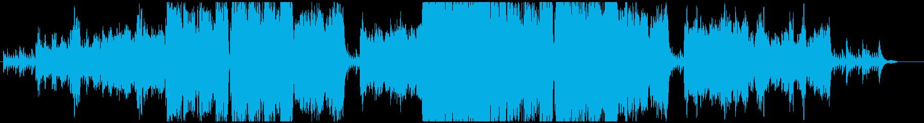 悲しいオーボエとピアノの再生済みの波形