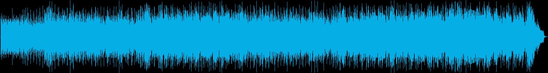 爽やかで前向きなバンド系ポップスの再生済みの波形