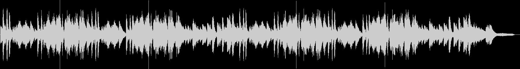 CM用奇抜で少し変わったピアノ曲の未再生の波形