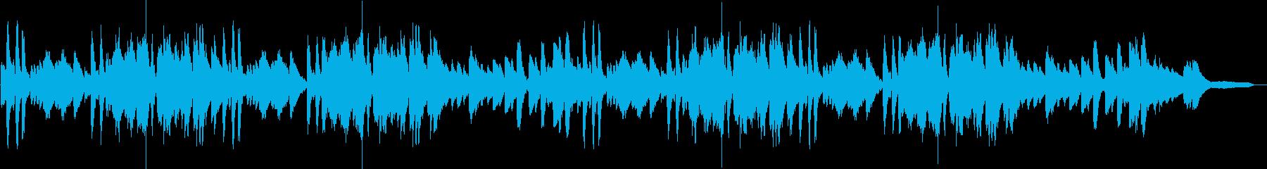 CM用奇抜で少し変わったピアノ曲の再生済みの波形