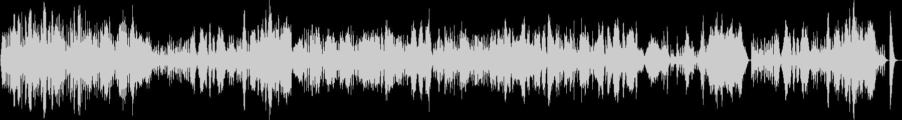 優雅な弦楽四重奏の未再生の波形