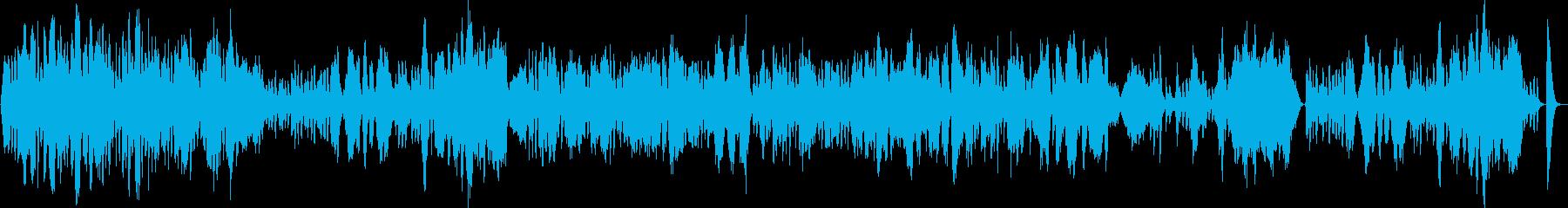 優雅な弦楽四重奏の再生済みの波形