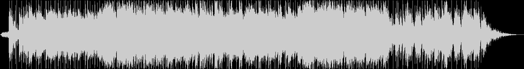 ダニーボーイのバンドアレンジ版の未再生の波形