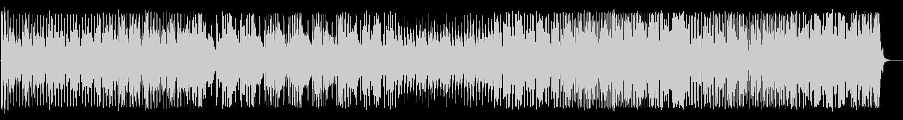 コミカルで未来的・のんびり明るいBGMの未再生の波形