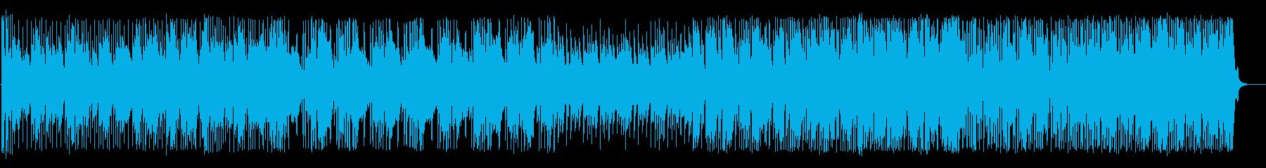 コミカルで未来的・のんびり明るいBGMの再生済みの波形