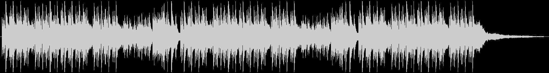 優しい雰囲気のピアノ曲(6/8拍子)の未再生の波形