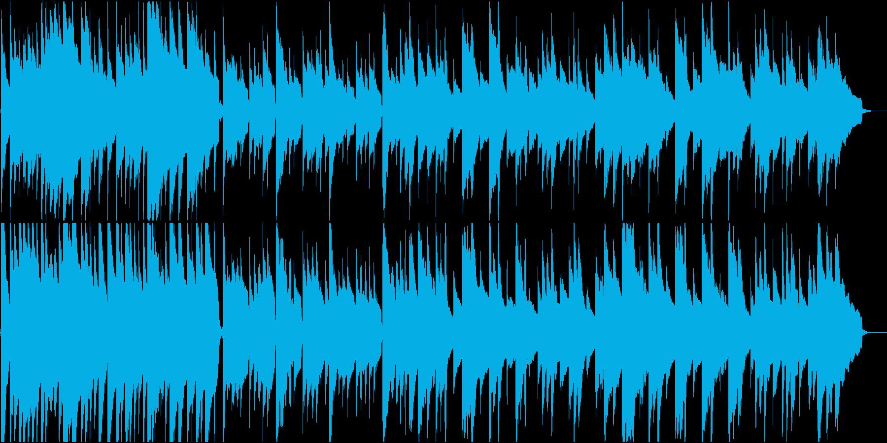 優しくて穏やかなアコギソロの再生済みの波形