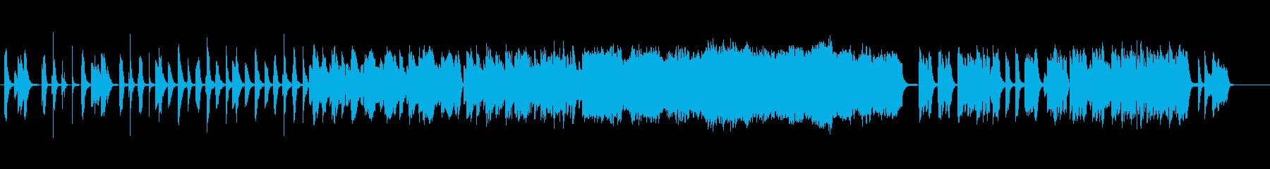 小編成オーケストラのほんわか日常曲の再生済みの波形