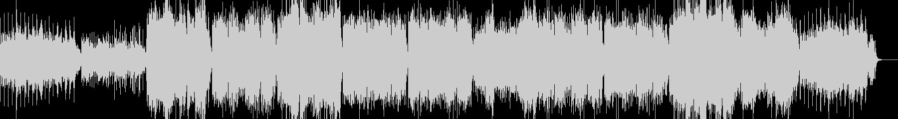 太鼓と尺八を使った軽快なエレクトロニカの未再生の波形